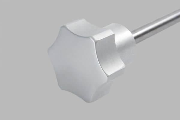 manopole in alluminio per affettatrici mistro