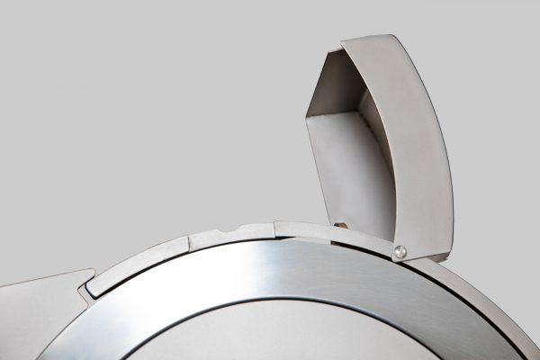 Affettatrice a Gravità Inox GSX 350 trasmissione ingranaggi SA CE