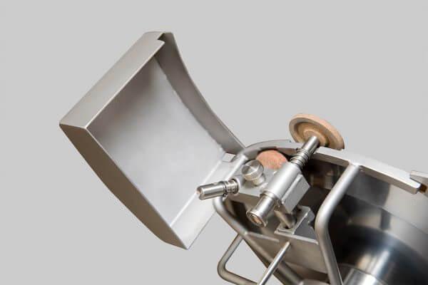 Stainless steel gravity slicer GSX 350 belt or gear transmission CE 3