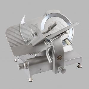 Stainless steel gravity slicer GSX 350 belt or gear transmission CE