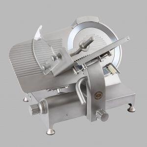 Affettatrice a Gravità Inox GSX 350 trasmissione a cinghia o ingranaggi CE