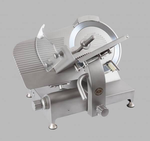 Stainless steel gravity slicer GSX 350 belt or gear transmission CE