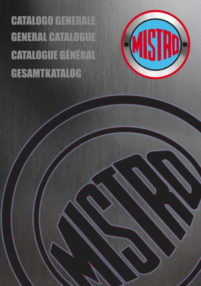 catalogo Mistro 2016